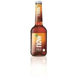 ORANGE COLA (Z GUARANĄ) BIO 330 ml - NOW
