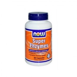 Now Foods Super Enzymes 90 kapsułek (1000 mg) NOW FOODS